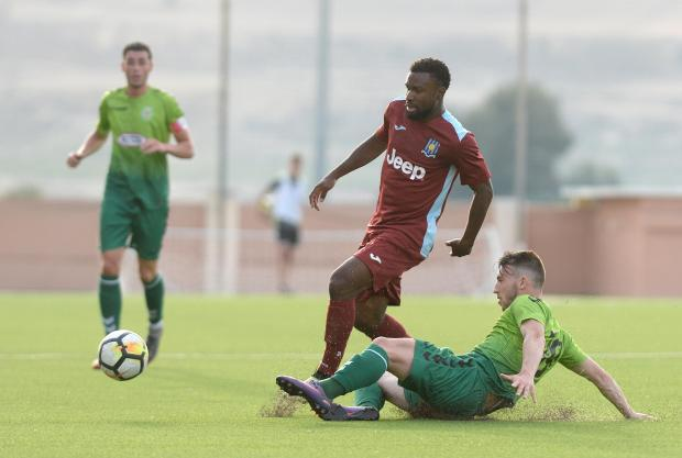 Gżira United suffered a 4-0 defeat in Serbia.