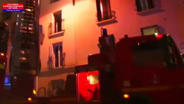 Fire in Paris apartment building leaves eight dead including two children