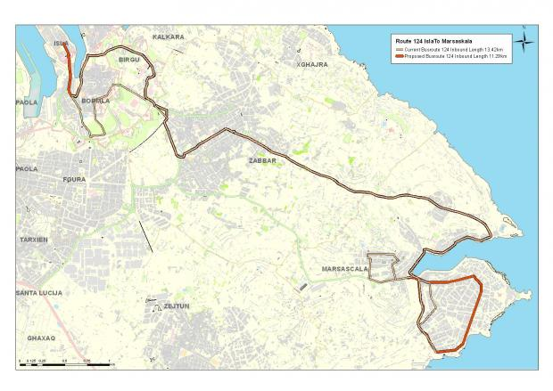 Maps of new bus routes issued