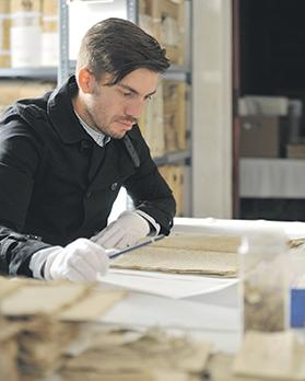 Curator Liam Gauci has carried out research on 18th century Maltese corsairs.