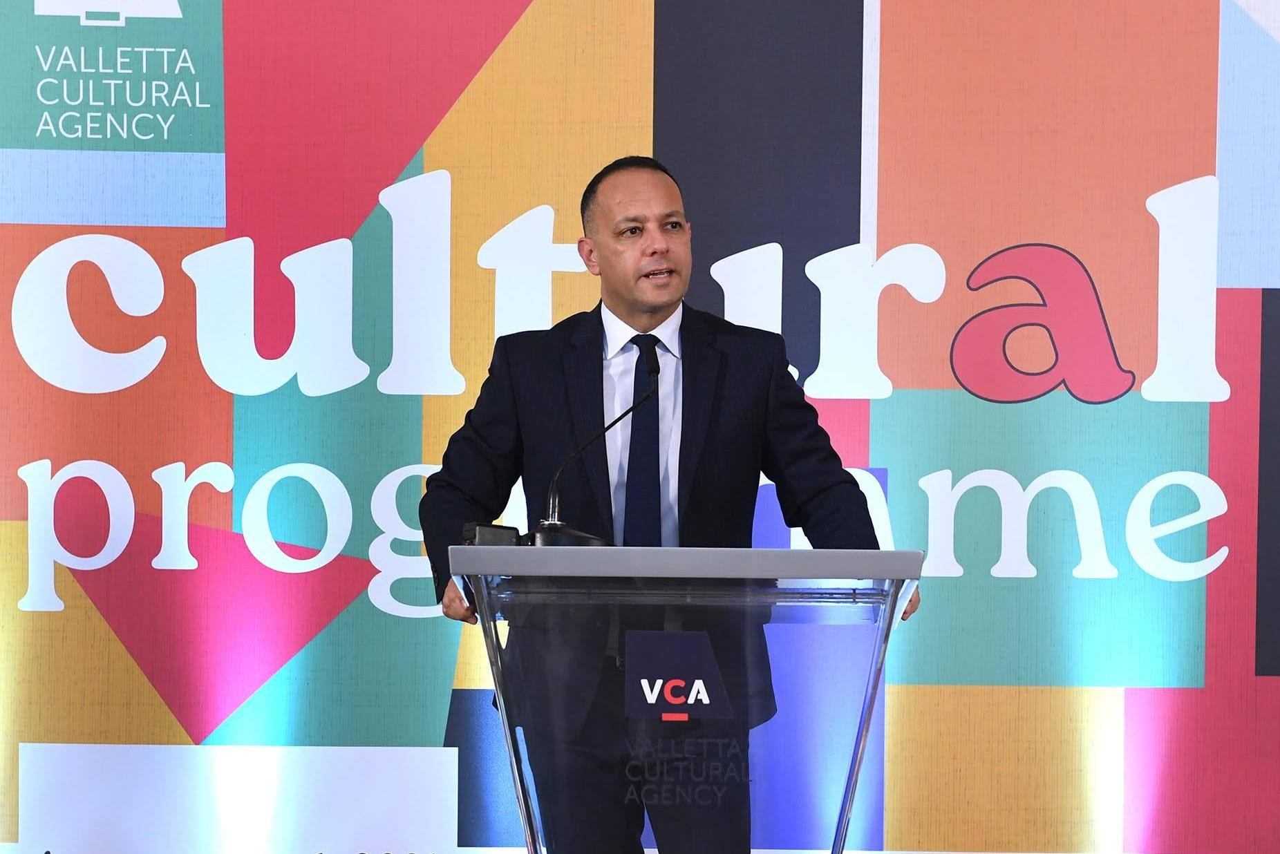 Jason Micallef said the platform was just like many others but said the VCA should have been consulted. Photo: DOI/Pierre Sammut