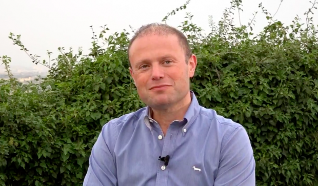 Joseph Muscat was confident in his interview with Katriel.