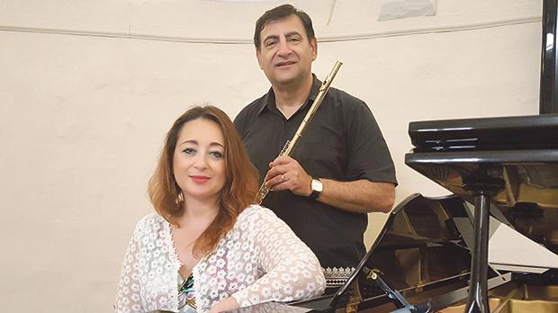 Flutist Silvio Zammit and pianist Ramona Zammit Formosa will be marking the end of the lunchtime concert season with a performance celebrating life and love.