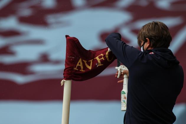 Villa face fixture backlog as virus forces postponement of Everton game