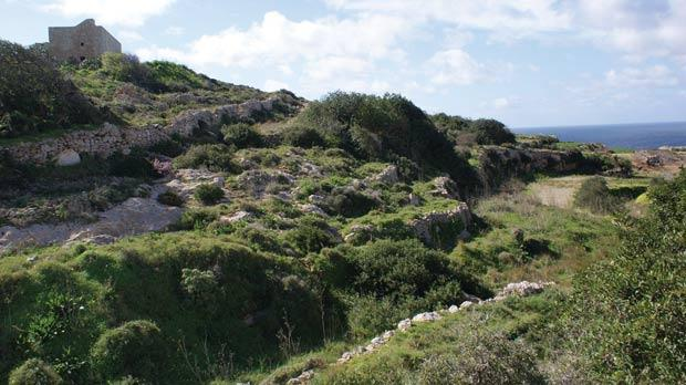 The Devil's Farmhouse, Mellieħa, overlooking an essential watercourse for farmers, who fear a appeal tribunal on March 6 could dismiss Mepa's refusal to sanction a nearby illegal fireworks factory.