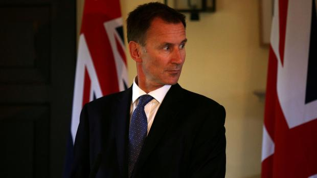 Jeremy Hunt urged the EU to get tougher with Russia. Photo: Reuters