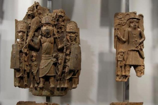 Germany ponders return of looted colonial bronzes