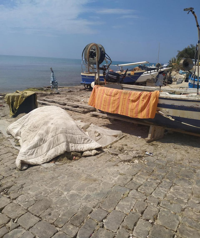 The old port of Marsa Siklah.