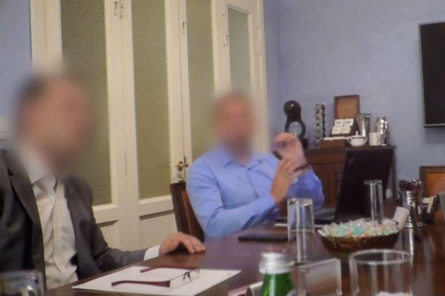 Watch: Leaked footage shows passport lawyer's meeting with undercover reporters