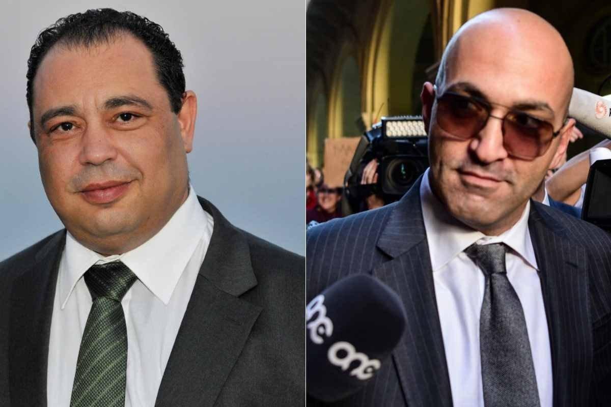 Silvio Valletta and Yorgen Fenech