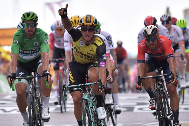 Groenewegen edges stage seven to ease Brussels agony