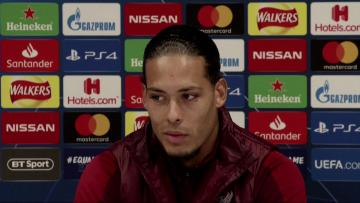 """Watch: Liverpool-Napoli game """"like a final for us"""" - van Dijk"""