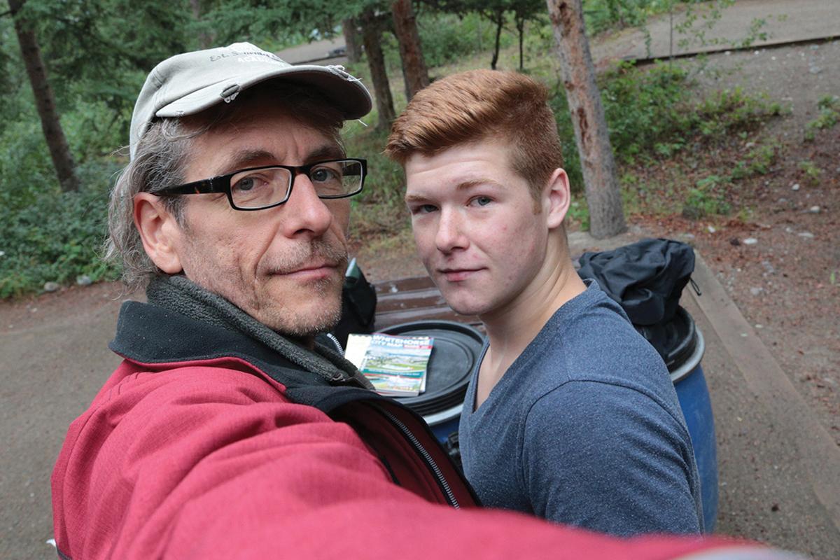 Bernd Alexander Mansholt and his son Mike.
