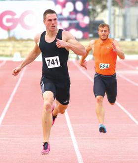 Kevin Moore stormed to victory in the 200m to become the first Maltese athlete to win an event at the Euro Team Championships.