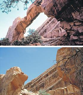 The collapse of Utah's 'Wall Arch'.