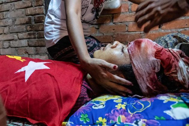 Myanmar junta puts on show of force as 11 protestors killed in crackdown