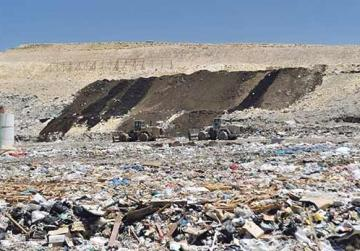 The generation of solid waste declined by more than a third in one year. Photo: Steve Zammit Lupi