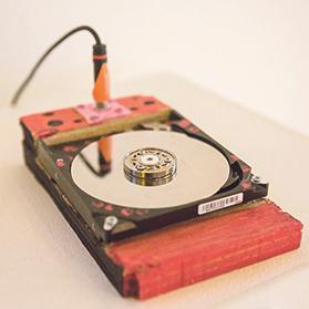 Amped Hard Disk Drive by Yuri Landman