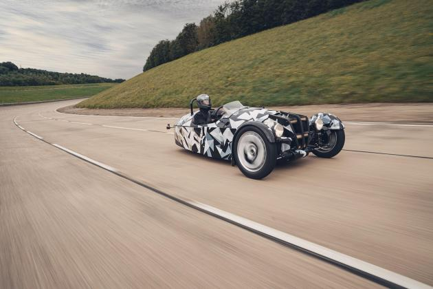 Morgan confirms all-new three-wheeled model