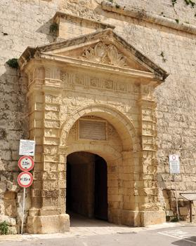 The Greek Gate at Mdina. Photo: Chris Sant Fournier