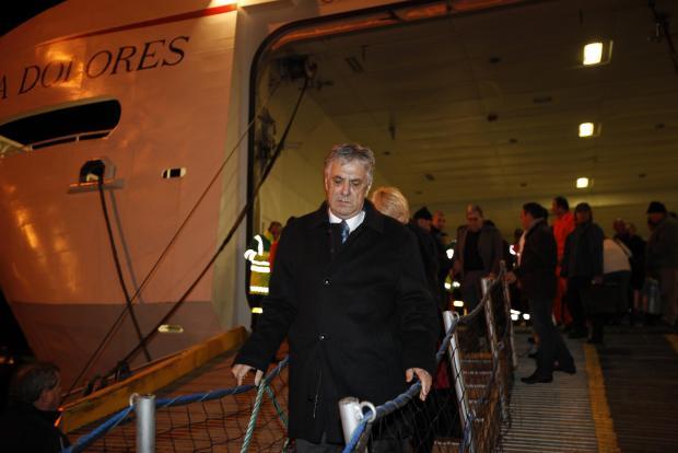 Dr Cassar on his evacuation from Libya. Photo: Darrin Zammit Lupi