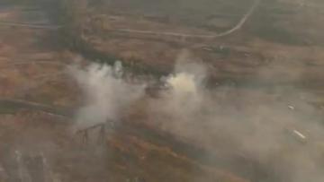 Wildfires ravage eastern Siberia