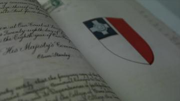 Watch: George Cross deed allowing medal onto national flag restored