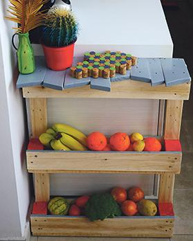 Pallets can be turned into furniture and home decor.