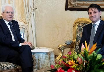 Italian president gives prime minister mandate to political novice