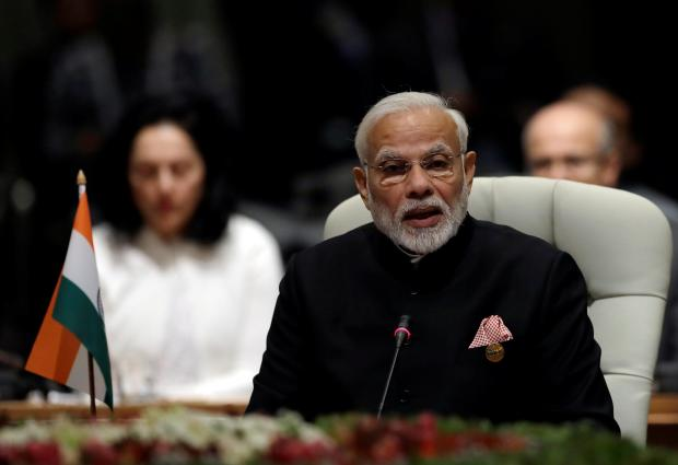 Modi is confident of electoral success. Photo: Reuters