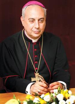 Archbishop Dominique Mamberti, Secretary for Relations of the Holy See with States.