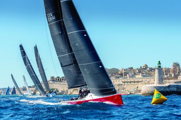 Rolex Middle Sea Race off to spectacular start