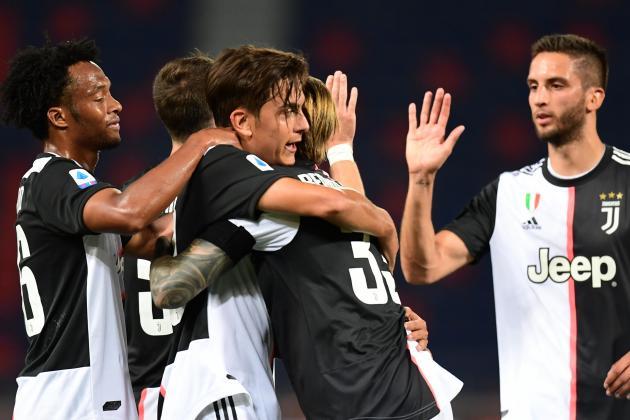 Watch: Ronaldo, Dybala get Juventus back winning