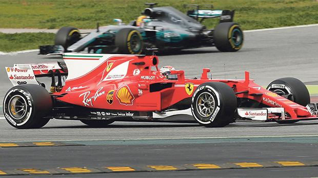 Will Ferrari be leading Mercedes this year?