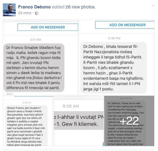 Photo: Franco Debono/Facebook
