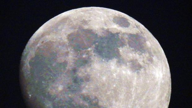 The full moon, as shot from Mellieħa. Photo: Steve Howard