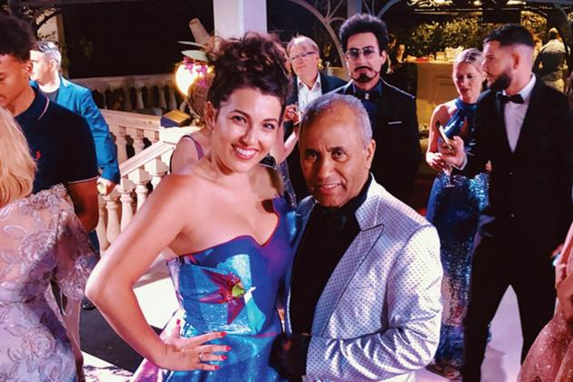 Soprano Nicola Said sings at Cannes short film awards