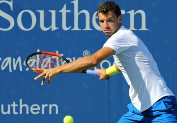 Grigor Dimitrov will face Nick Kyrgios in the Cincinnati final.