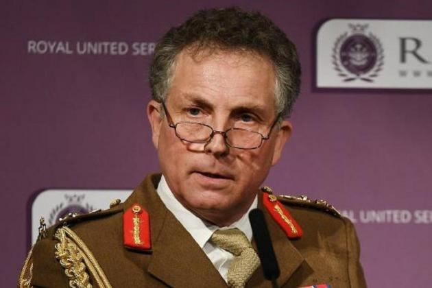 Britain's top general warns of 'reckless' Russia threat