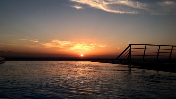 Sunrise as seen from Dwejra, Gozo. Photo: Colin Hobbs