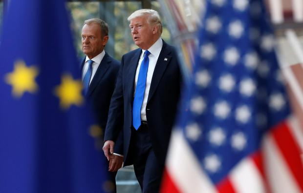 Trump raised Brexit job fears with EU chiefs -EU source