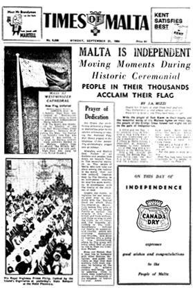 Times of Malta report.