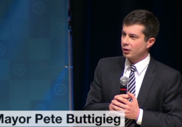 Pete Buttigieg gaining praise and support in race for US Democratic Party chair