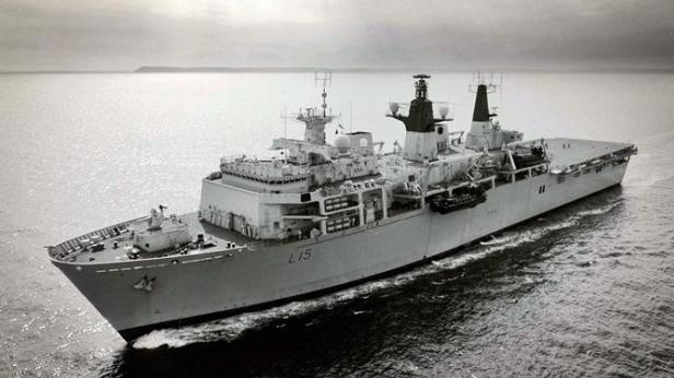 HMS Bulwark, which has been involved in migration missions, could be used to deploy troops to Libya.