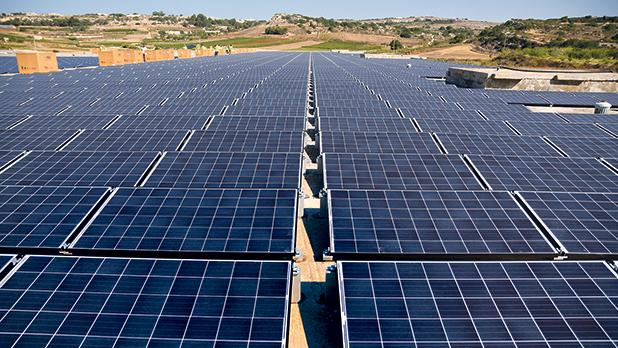 The plan includes extensions on measures to incentivise large-scale solar farms. Photo: Jonathan Borg