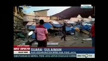 Frantic search for survivors after dozens killed in Indonesia earthquake