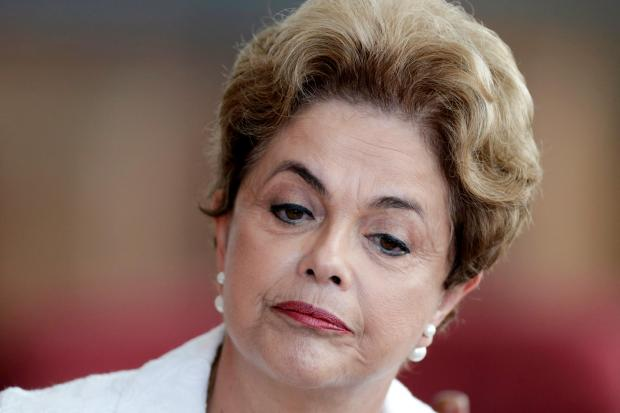 Dilma Rousseff: caught between a rock and a hard place. Photo: Reuters