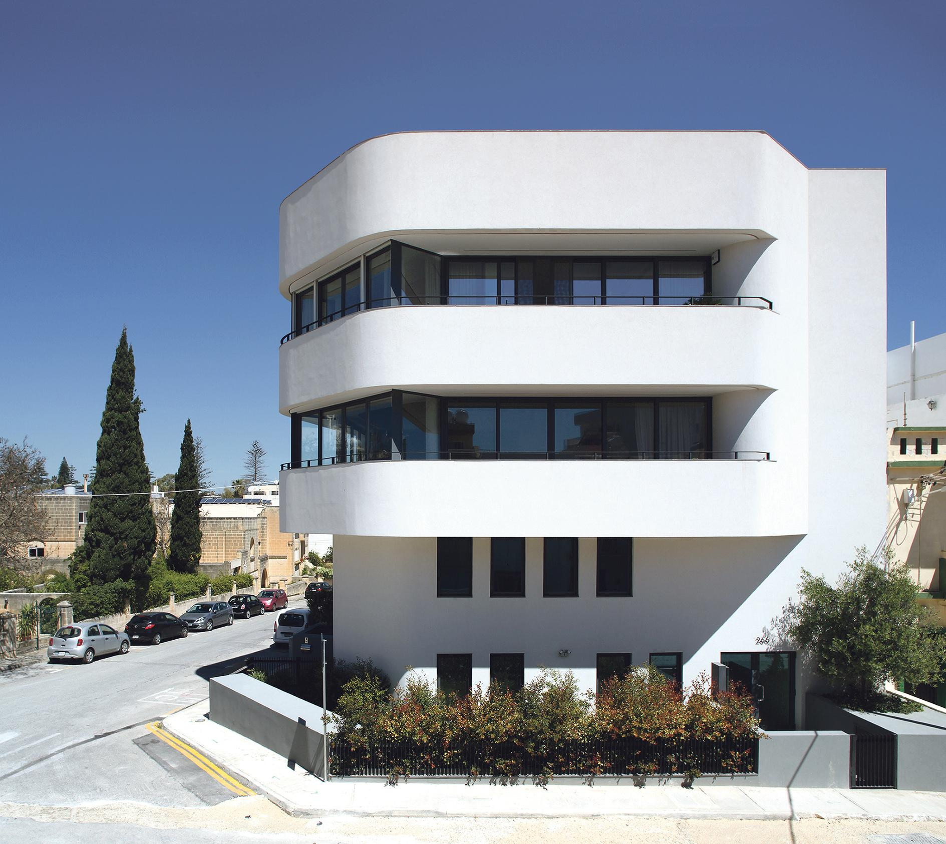 Valentino Architects won the Housing Project Award and the President's Award Special Commendation for the Threeplusone apartment block in Balzan. Photo: Julian Vassallo