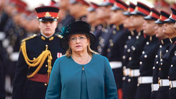 President Marie-Louise Coleiro Preca.Photo: Darrin Zammit Lupi