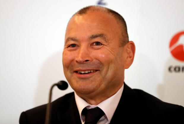 England Head Coach Eddie Jones during the press conference.